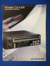 Pioneer CDX-P1 KEH-9000 KE-A730 BP-780 TS-V69 KE-A433AM Sales Brochure Original