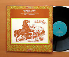 Charles Ives Symphony no 2 Harold Farberman 1968 Vanguard VSL 11040 NM/EX