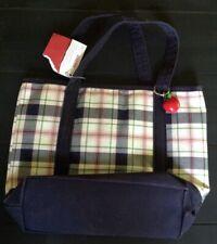 NWT Gymboree PREP SCHOOL Plaid Apple Purse Bag Tote NEW 345678 BTS Fall