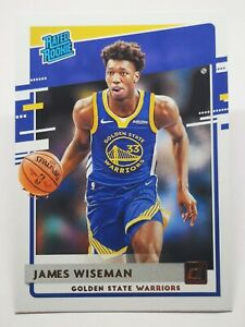 Panini Donruss 2020-21 N7 NBA James Wiseman Rated RC #226 Golden State Warriors