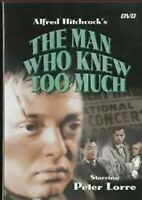 Alfred Hitchcock's The Man Who Knew Too Much DVD Peter Lorre FREE SHIPPING