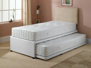3ft Single Divan Guest Bed, Pull Out Bed, Visitors' Bed, TRUNDLE BED, KIDS BEDS