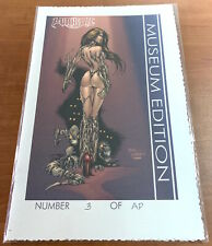 Image WITCHBLADE #40 PREVIEW Museum Edition! AP#3! Keu Cha Cover! Turner!! HTF!!