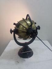 NAUTICAL Classical Antique Brass Table Lamp, Industrial Nautical Marine Lamp