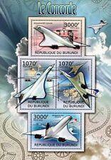 France Sheet Aviation Postal Stamps