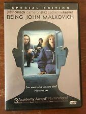 Being John Malkovich (Dvd, 2000)*John Cusack Cameron Diaz