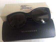 BURBERRY Donna Nero Occhiali da sole, modello B4164/T3/Grigio lenti polarizzate
