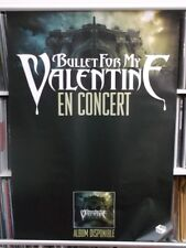 Bullet For My Valentine  99cm X 70cm   2007 French Concert Poster