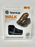 Yaktrax Walk Traction Cleats for Walking on Snow/Ice Size L 08687 NEW