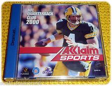 NFL Quarterback Club 2000 videogame Acclaim Dreamcast