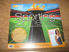 VARIOUS - SPORTING ANTHEMS & KELLY HOLMES (DVD & CD DIGIPAK ALBUM) NEW & SEALED