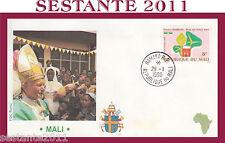 VATICANO FDC ROMA VISITA PAPA GIOVANNI PAOLO II MALI 1990 (645)