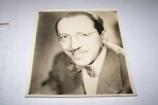 Vintage 8x10 Big Band Photo #405 - George Sterney