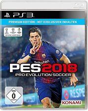Sony PS3 Playstation 3 Spiel * PES 2018 * Pro Evolution Soccer 18 *******NEU*NEW