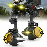For BMW F800GS R1200GS Motorcycle LED Auxiliary Fog Light Driving Spot Work Lamp