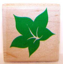 NEW 1990 STAMPEDE Wood Rubber Stamp SWEET LEAF Z-276-C POSH IMPRESSIONS Unused