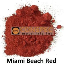 MIAMI BEACH RED Concrete Sidewalks Driveways cement curbing colorant Color 3 LBS