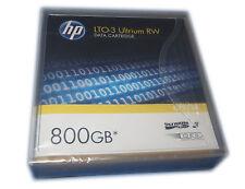 HP lto-3 Ultrium RW Data Cartridge c7973-60000 800gb NUOVO OVP #30