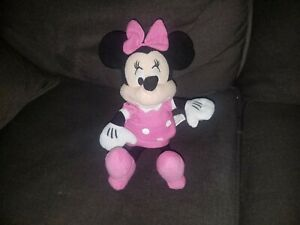 Disney Minnie Mouse plush pink dress and shoes