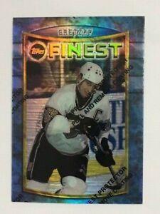 Wayne Gretzky 1994-95 Topps Finest #41 Refractor unpeeled