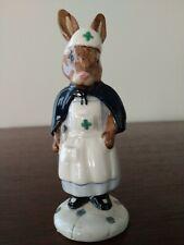 Nurse Bunnykin Db74 1988 Royal Doulton figurine
