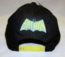 BATMAN Old School Logo TV Black Yellow Snapback Baseball Cap Hat DC Comics