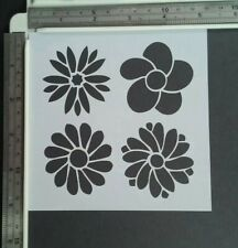 French Lily Stencil Pattern Template Card making Crafts Paint Furniture TE151