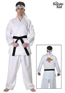 Adult Karate Kid Daniel San Costume Size M L (Used)