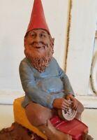 Rare - SHOVE - Edition # 1 - Tom Clark gnome - train - personally signed
