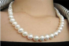 8-9mm WHITE SALT WATER AKOYA CULTURED PEARL NECKLACE 18""