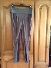 Yaya Grey Cross Over Front Trouser With Folded Welt Waist Size 40