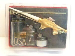 Vintage Binks Wren Airbrush Model 59-10002 Type B Kit and Instructions & Invoice