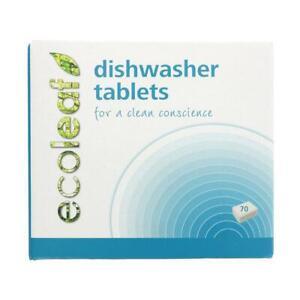 💚 Ecoleaf Natural Dishwasher Tablets - 70 Tabs