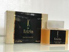 """""""K de KRIZIA""""   PROFUMO DONNA  edt 50 ml NUOVO (raro) Vintage"""