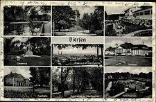 Viersen s/w Mehrbildkarte 1954 Bahnhof Haus Kaiserbad Stadtgarten Festhalle u.a.