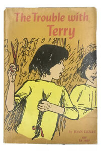 The Trouble With Terry Joan Lexau Vintage Scholastic PB 1972 TX 1407