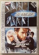 X-Men & X-Men 2 (2 Movies Set) DVD in GREAT condition (Region 4)