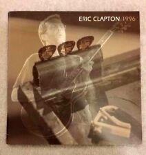 ERIC CLAPTON 1996 ROYAL ALBERT HALL UK CONCERT TOUR PROGRAM BOOK / NMT / MNT