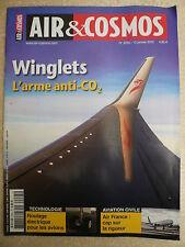 AIR et COSMOS  n° 2295 WINGLETS. La CHINE certifie l' AC 313. Le F 35 Turc.