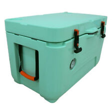 Lerpin 50 Quart Seafoam Green Cooler with Themometer