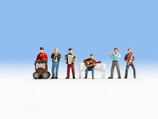 NOCH 36563 N Figuras 1:160 Músicos de la calle nuevo en emb. orig.