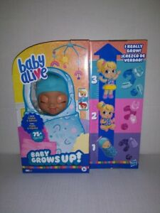 NEW Hasbro Baby Alive Baby Grows Up Doll