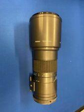 Lente Teleobjetivo Prime SIGMA 400mm f5.6 PK Montaje Con Filtro
