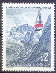 Cable Car, Transport at Dachstein, Austria 1975 MNH
