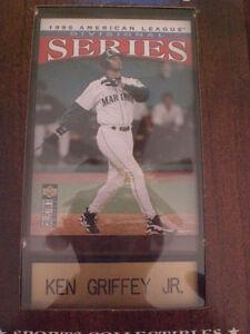 Ken Griffey Jr UPPER DECK Vintage Sports Plaque 4x6***HALL OF FAME!!!!***