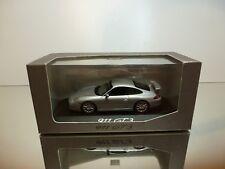MINICHAMPS  PORSCHE 911 GT3 - GREY METALLIC 1:43 - EXCELLENT IN DEALER BOX