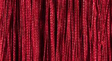 Cortinas y estores color principal rojo de baño