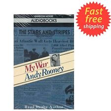 ANDY ROONEY - My War - Audio Cassette Random House Brand New Factory Sealed