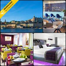 4 Tage 2P Stockholm Schweden 3★ Hotel ibisStyles Kurzreise Gutschein Reiseschein