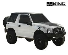 King 4WD PRM Replacement Soft Top Blk Dia Tinted Windows Suzuki Sidekick Tracker